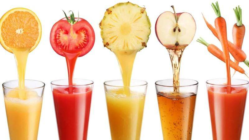 fresh juice at home