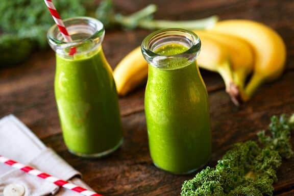 Kale and Banana Shake