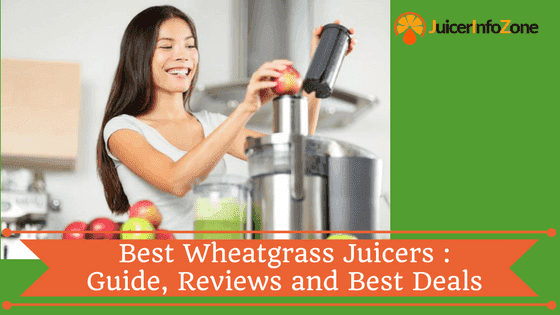 Best Wheatgrass Juicers: Guide, Reviews and Best Deals